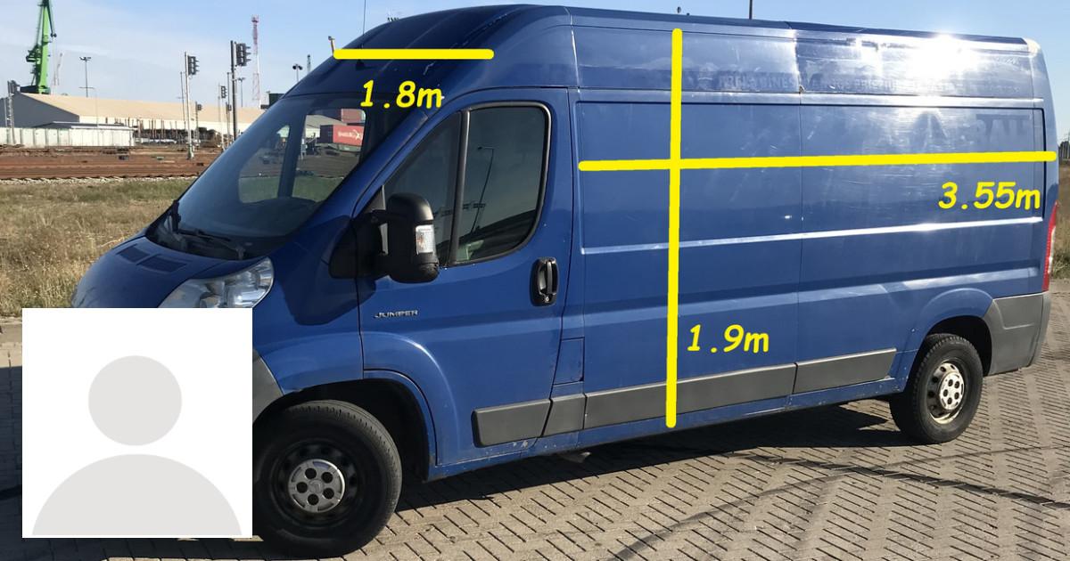 Krovininio mikroautobuso nuoma Klaipedoje