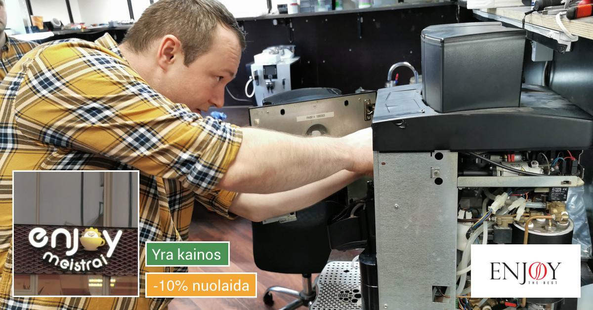 Enjoy - Jūsų kavos technikos ekspertai