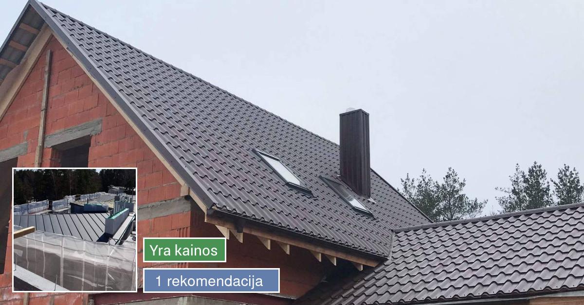 Stogu dengimas visoje Lietuvoje,medžiagų pardavimas..