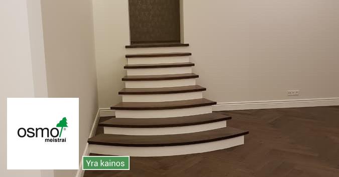 Osmo Meistrai / medinių grindų įrengimas ir apdaila