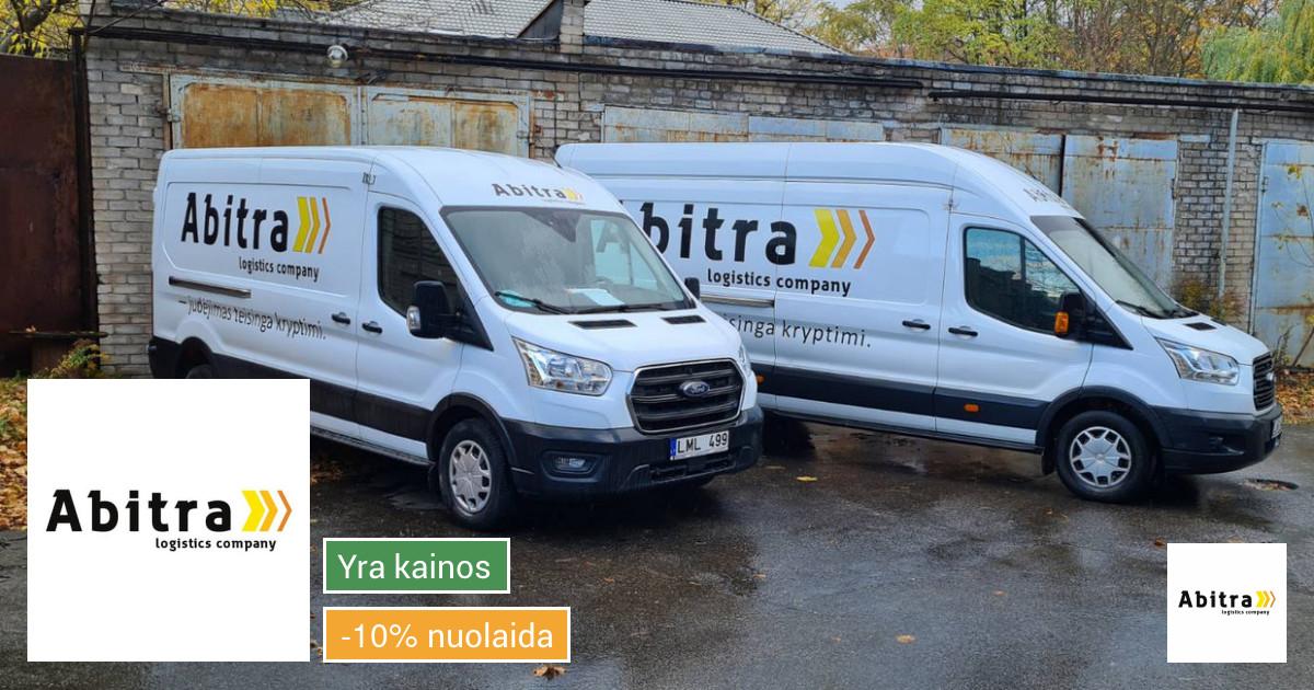 Krovinių gabenimas Vilniuje ir visoje Lietuvoje