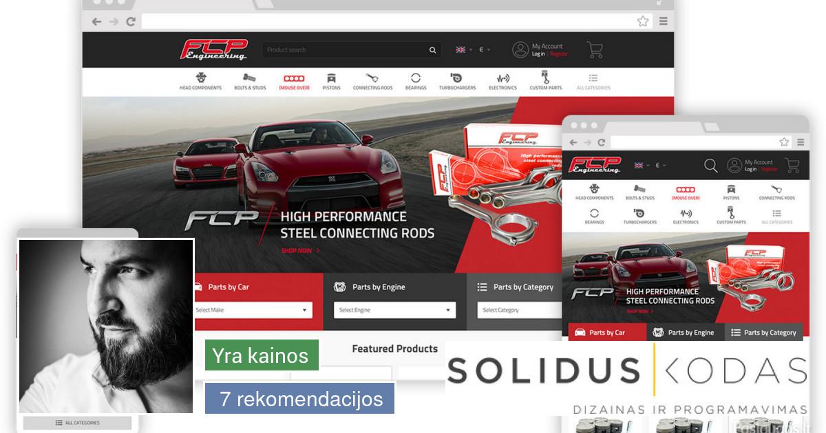 Interneto svetainės, el. parduotuvės