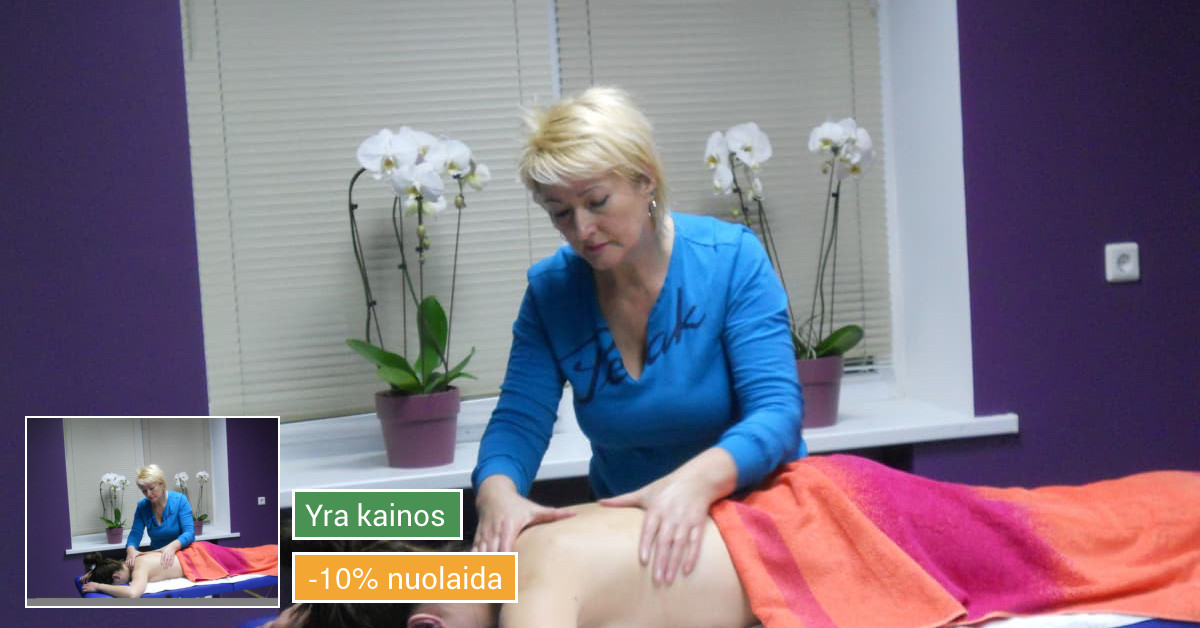 Masažo paslaugos