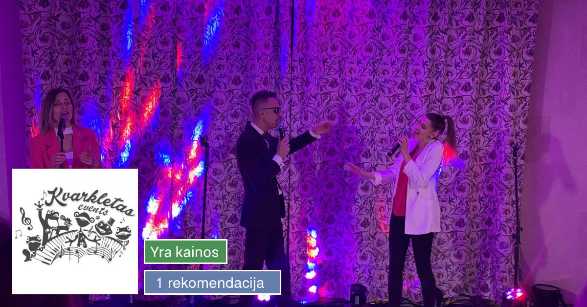 Renginių vedėjas Viktoras Jermolovas