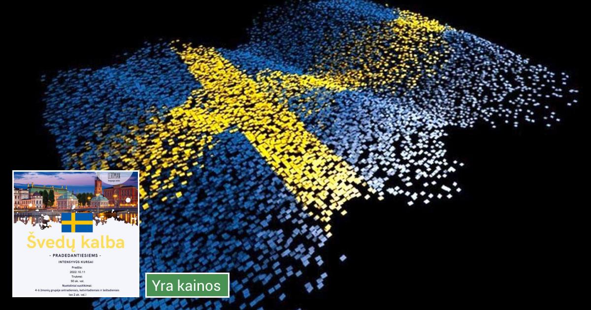 Švedų kalbos kursai, pamokos