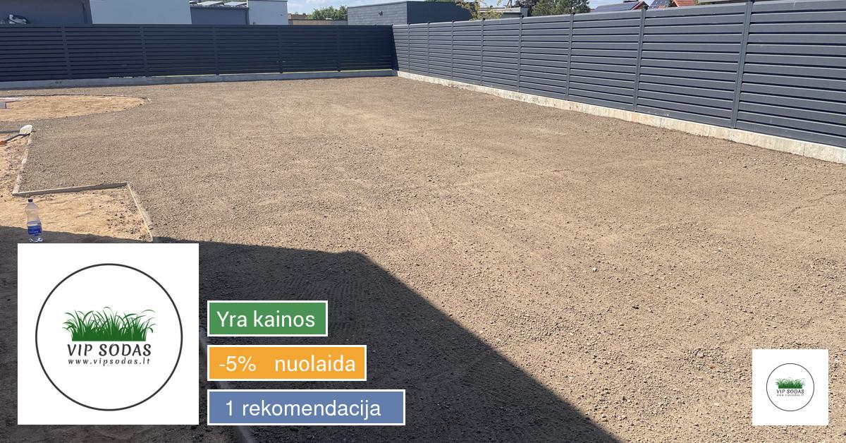 VipSodas - teritorijų tvarkymas, vejos, laistymo sistemos